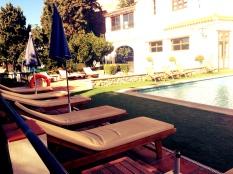pool hamacas